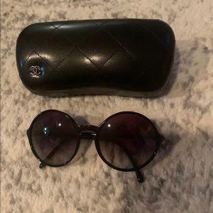 Round Chanel Sunglasses